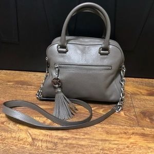 Michael Kors Gray Crossbody Bag